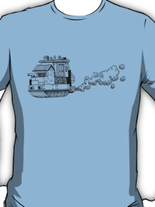 Sky Ship (Black) T-Shirt