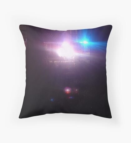bad boys, bad boys... Throw Pillow