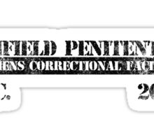 Orange Is The New Black - Prison Logo Sticker