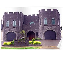 Gargoyle Castle Poster
