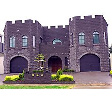 Gargoyle Castle Photographic Print