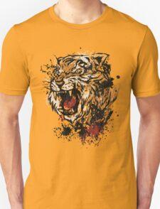 Splattered Tiger T-Shirt