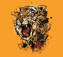 Splattered Tiger Unisex T-Shirt