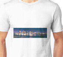 Boston skyline in color Unisex T-Shirt