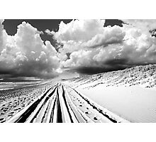Sand Trails Photographic Print