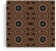 Chocolate Star Jewel Canvas Print