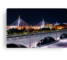 Zakim Bride from Museum of Science 1 Canvas Print