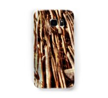 texture of wicker, wicker brace Samsung Galaxy Case/Skin