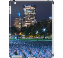 Boston Common, Memorial Day 2 iPad Case/Skin