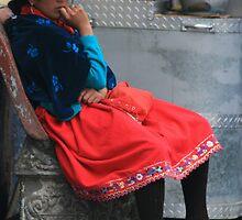 Ecuador Girl by Jane McDougall