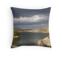 South Island, New Zealand Throw Pillow