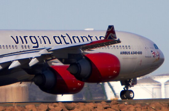 A340-600  by Mark  Lucey