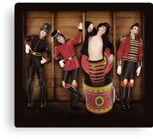 MARIANAS TRENCH DESIGN #3 Canvas Print