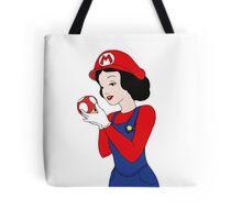 Mario snow white Tote Bag