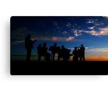 Celtic Music in the Outback II Canvas Print