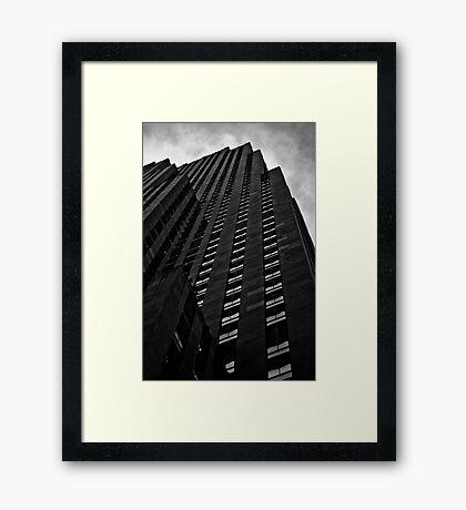 Gotham City? Framed Print