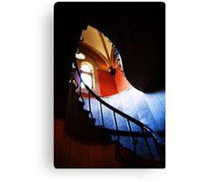 garfield staircase Canvas Print