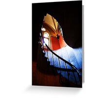 garfield staircase Greeting Card