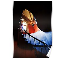 garfield staircase Poster