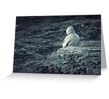 Cold and Alone Greeting Card