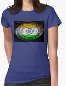 Indian Twirl Womens Fitted T-Shirt