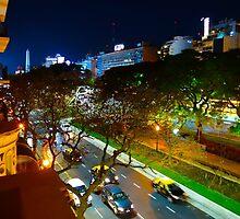 Buenos Aires by Night by Atanas Bozhikov