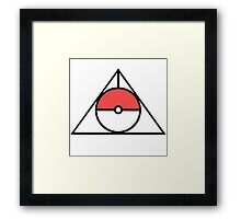 HP and The Deathly Pokeball Framed Print