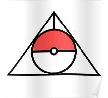 HP and The Deathly Pokeball Poster