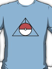 HP and The Deathly Pokeball T-Shirt