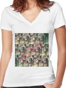 vintage  2 Women's Fitted V-Neck T-Shirt