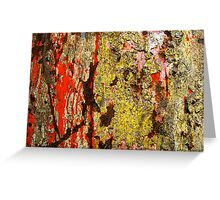 Uncontained - I Greeting Card