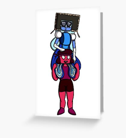This is Garnet, Back Together Greeting Card