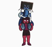 This is Garnet, Back Together One Piece - Short Sleeve