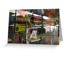 Main Street - Queenstown, Tasmania, Australia Greeting Card