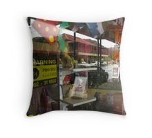 Main Street - Queenstown, Tasmania, Australia Throw Pillow
