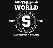 Shoplifters of the World Unite - White Unisex T-Shirt