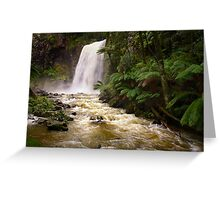 Hopetoun Falls - Otways Greeting Card