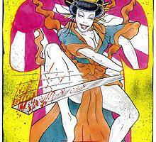 Geisha tatt by Psychoskin