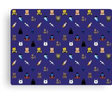 Nerd Alert - Dark Blue Canvas Print