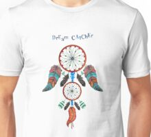 DREAM CATCHER OVER ANCIENT STONE Unisex T-Shirt