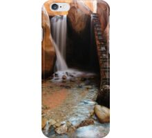 Kanarraville First Falls iPhone Case/Skin