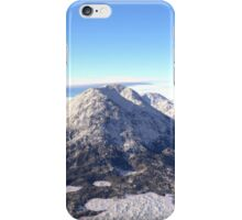 Snowy Volcano Mountain iPhone Case/Skin