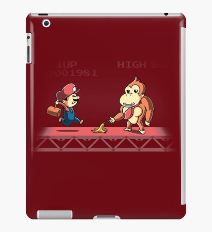Tricky Kong iPad Case/Skin