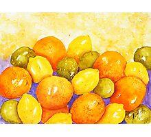 Citrus Juice Photographic Print