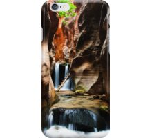 Kanarraville Second Falls iPhone Case/Skin