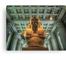 Bust of Amenhotep III - British Museum Canvas Print