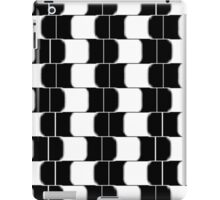 Black & White Eye Twister iPad Case/Skin