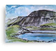 Llyn Cregennan and Cadair Idris, Wales Canvas Print