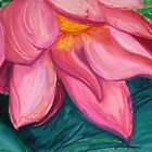 balinese water lily by Leah Gay