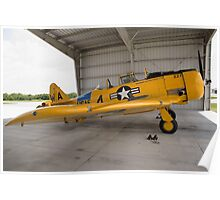 North American SNJ-6 Texan Poster